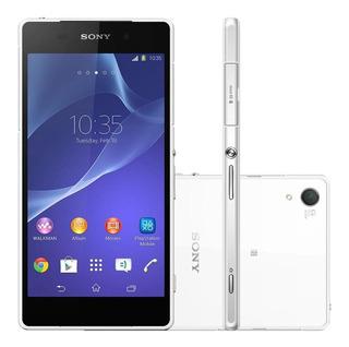 Sony Xperia Z2 Tv D6543 16gb 3gb Ram 20.7mp Branco Vitrine 2