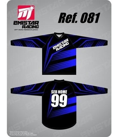 Camiseta Personalizada Motocross, Trilha E Enduro