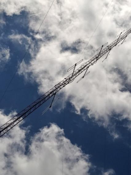 Antena Fm Dipolos X4 Con Arnes Armado