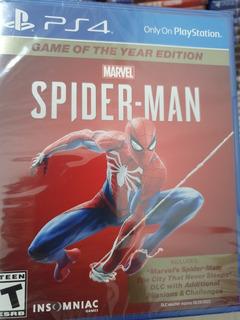 Spiderman Ps4 Nuevo Sellado Fisico