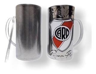 Vaso Güira River Plate