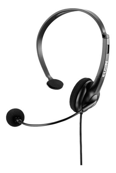 Fone De Ouvido Headphone Elgin Ajuste Microfone Game Pc