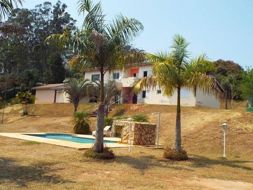 Chácara Com 5 Dormitórios À Venda, 5000 M² Por R$ 1.900.000 - Portão - Atibaia/sp - Ch0069