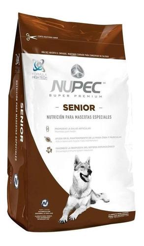 Imagen 1 de 1 de Alimento Nupec Nutrición Científica para perro senior todos los tamaños sabor mix en bolsa de 8kg