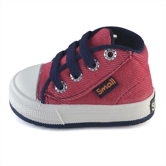 Botita Bebe Jean Guinda Small Shoes Envío Gratis