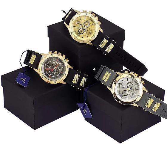 Kit 3 Relógios Masculinos