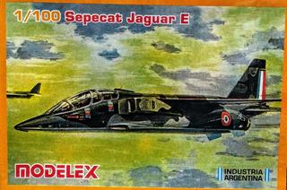 Sepecat Jaguar E Escala 1/100 Modelex