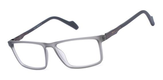 Armação Oculos Ogrife Og 369-c Masculino Com Lente Sem Grau
