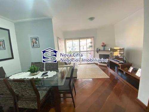 Imagem 1 de 15 de Apartamento Reformado 03 Dorms (1suíte) Na Vila Adyana - 120 M² - A3190
