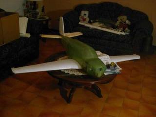 Avión Bonanza De La Casa Byron Beechcraft Series 1/6 Scale