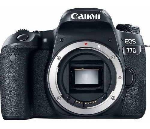 Câmera Canon Eos 77d Dslr Corpo P/ Entrega