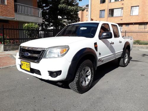 Ford Ranger 2012 4x4 2500cc Turbo Diésel Doble Cabina