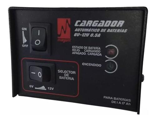 Cargador Inteligente 6v Y 12v De 0,5ah Baterias Secas Nuevo