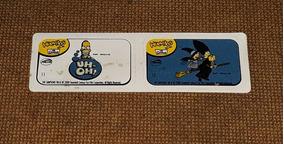 Simpsons - Adesivo Huevitos Números 11 E 12