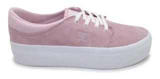 Tenis Dc Shoes Trase Platform Se Adjs300187 Pnk Pink Piel Ga