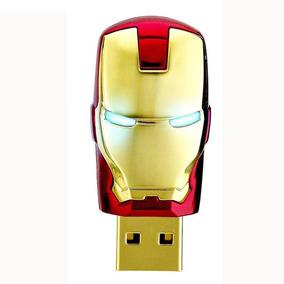 Pen Drive 128gb Homem De Ferro - Pronta Entrega