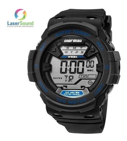 Relógio Mormaii Masculino Mo3500a/8a, C/ Garantia E Nf