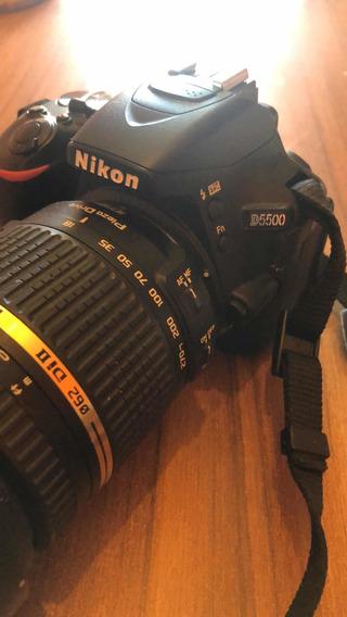 Cámara De Fotos Nikon D-5500 Con Lente Original Nikon.