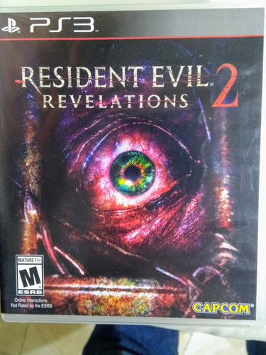 Resident Evil Revelation 2 Juego Fisico En Español Para Ps3