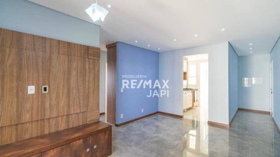 Apartamento Com 3 Dormitórios À Venda, 83 M² Por R$ 520.000,00 - Engordadouro - Jundiaí/sp - Ap3802