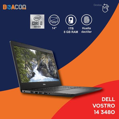 Imagen 1 de 10 de Laptop Dell Vostro 14-3480 14 I3 8gb Ram 1tb Dd W10pro Nueva