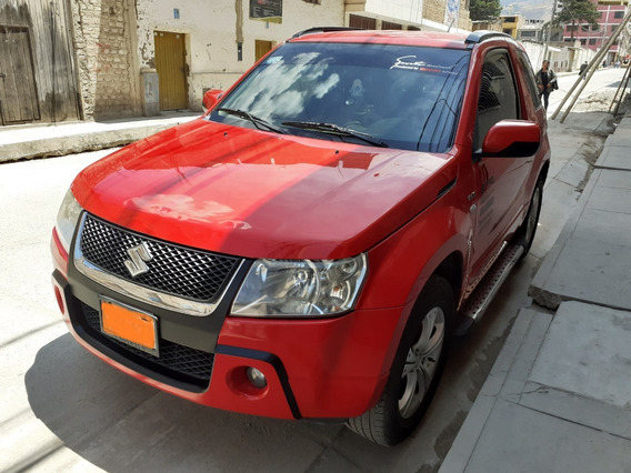 Suzuki Gran Vitara Color Rojo 4x4
