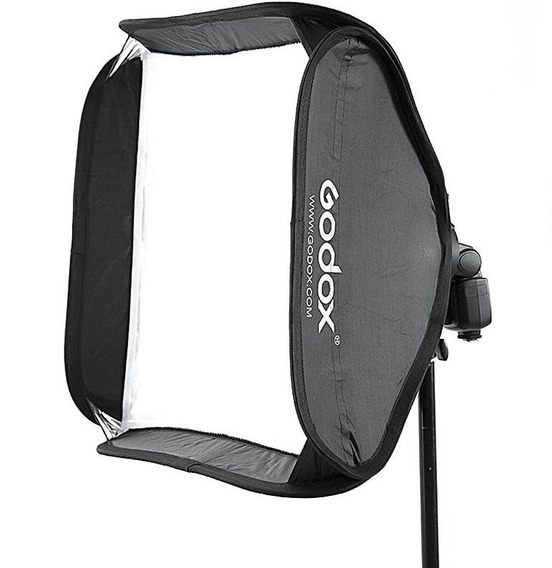 Softbox Godox 60x60cm Para Flash Speedlite Sf-uv60x60