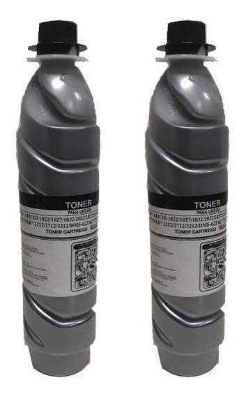 Kit 2 Toners Comp Ricoh 1022   2120d   2500   2852 3351