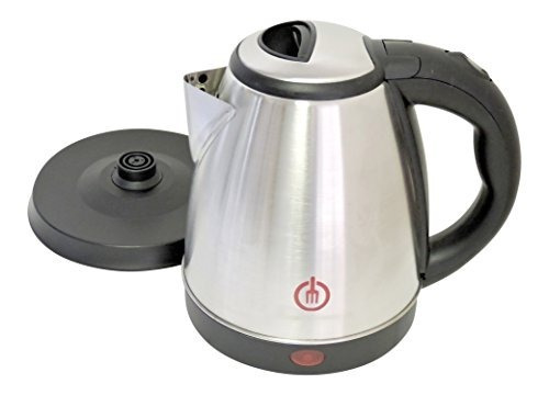 1.5l Cordless Electric Kettle Stainless Steel 120v Con Apaga