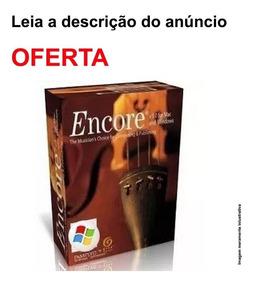 Encore 5.0.2(pt Br)+ Licenciado +manual Português