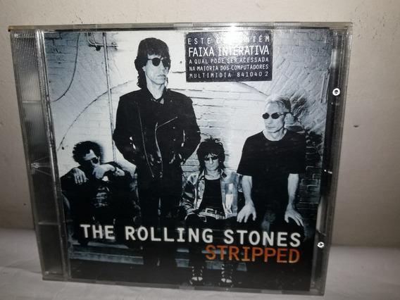 Cd Rolling Stones Stripped 1995