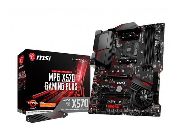 Motherboard Msi X570 Gaming Plus Amd Am4 Ddr4 Usb 3