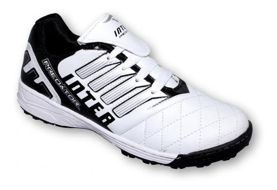 Tenis Deportivo Simipiel Blanco Negro-mod.4030in7482261