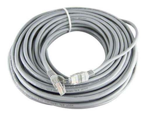 Imagen 1 de 5 de Cable Red Utp 30mts Armado Kelyx / Noga Incluye Fichas