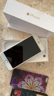 iPhone 6 Plus Dourado 128gb Usado