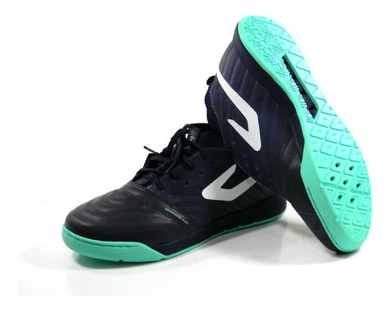 Tenis Futsal Topper Dominator Top Knit Pro Marinho Tam: 37 Ao 42