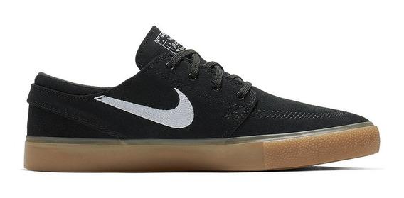 Tênis Nike Sb Zoom Janoski Cnvs Rm Preto/natural Original+nf