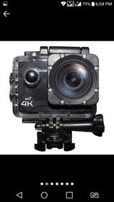 Action Cam 4k Com Wifi+controle Remoto