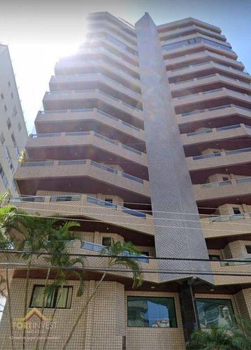 Imagem 1 de 30 de Cobertura Com 4 Dormitórios À Venda, 736 M² Por R$ 1.850.000,00 - Tupi - Praia Grande/sp - Co0026