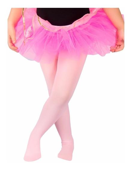 Medias Calzas Elgi De Ballet Danza De Niña Licra Mvd Sport