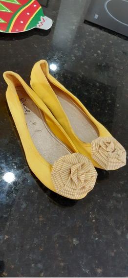 Zapatillas Qupic Amarillas