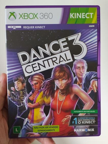 Jogo Dance Central 3 Original Em Mídia Física Para Xbox 360