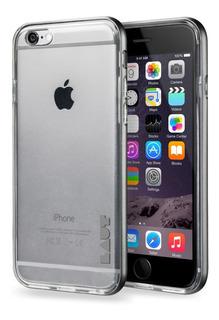 Capa Prote Exo Frame Cinza Com Pelicula iPhone 6/6s