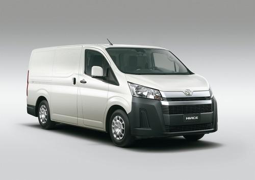 Imagen 1 de 15 de Toyota Hiace 2.8 Tdi Furgón 6at L1h1 3a 4p 2021