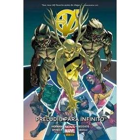 Vingadores-preludio Para O Infinito(nova Marvel)