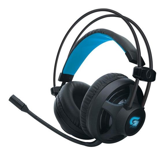 Headset Gamer Fortrek Pro H2 Fone Ouvido P2 Usb Led Stereo