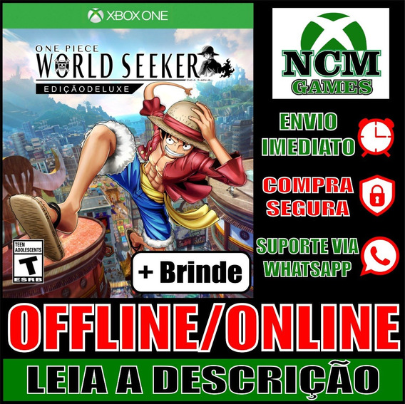 One Piece World Seeker Edi Deluxe Xbox One Off/on + Brinde