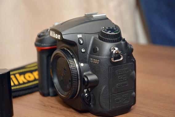 Câmera Nikon D7000 Só Corpo (13538 Cliks) Usada