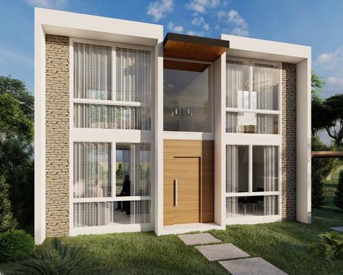 Casa De 4 Ambientes A Estrenar - 110m2 - Barrio Laguna Azul