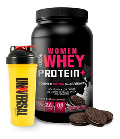 Woman 100% Whey Protein 2lb Proteina Mujer + Regalo Shaker